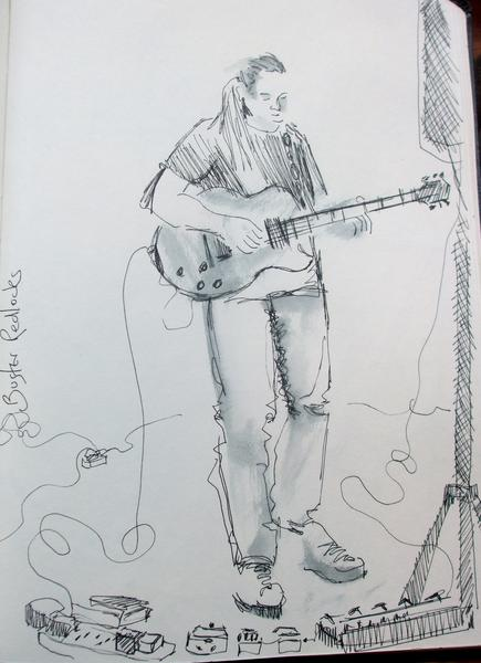 Buster Redlocks drawing Penarth Pavillion.JPG